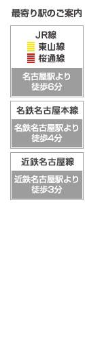 アトム法律事務所アトム法律事務所名古屋支部最寄り駅