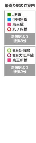 アトム法律事務所新宿オフィス最寄り駅